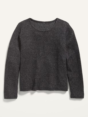 Old Navy Cozy Rib-Knit Cropped Top for Girls