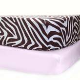 Pam Grace Creations Zara Zebra Crib Sheets (Set of 2)