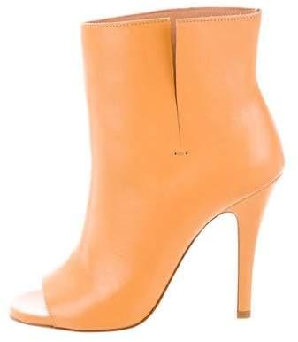 Maison Margiela Hessen Peep-Toe Ankle Boots w/ Tags