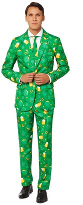 Men's Suitmeister St. Patrick's Day Novelty Suit & Tie Set