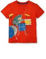 Boy's Mini Boden Musical Animals Graphic T-Shirt