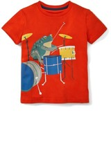 Toddler Boy's Mini Boden Musical Animals Graphic T-Shirt