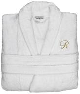 Anini Bamboo & Cotton Monogram Spa Robe