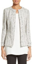 Lafayette 148 New York Women's Emelyn Tweed Jacket
