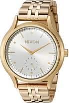 Nixon Women's 'Sala' Quartz Stainless Steel Watch, Color:Gold-Toned