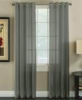 "Miller Curtains Robin 50"" x 84"" Textured Sheer Curtain Panel"