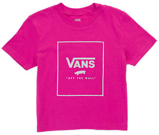 Vans Girls Connector Box Glitter Tee
