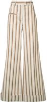 Rosie Assoulin B-Boy Striped Linen Pant