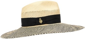Christys London St Tropez straw wide-brim hat