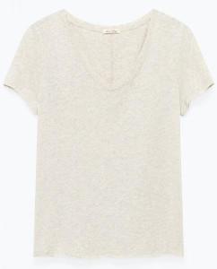 American Vintage Grey Sonoma Short Sleeve T Shirt - Medium - Grey