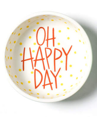 Coton Colors Happy Everything! Collection Mint Stripe Oh Happy Day Dipping Bowl