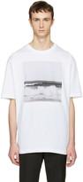 Raf Simons White Robert Mapplethorpe Edition Waves T-shirt