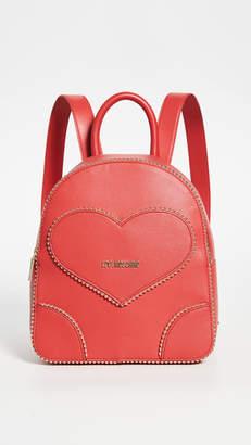 Moschino Love Heart Backpack