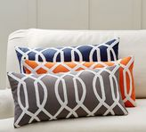 Pottery Barn Trellis Embroidered Pillow Cover