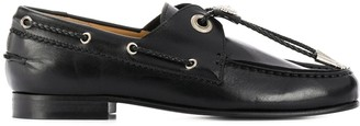 Toga Pulla Western cord loafers