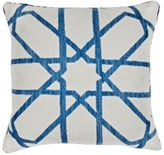 Madeline Weinrib Fauve Suzani Pillow-BLUE, CREAM