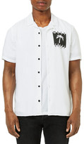 Topman West Coast Graphic Camp Shirt