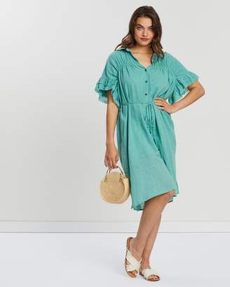Sundrench Shirt Dress