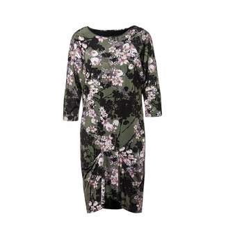 Nissa Loose Dress With Floral Print