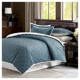 Nobrand No Brand Double Diamond Mink Reverse to Berber Comforter Mini Set