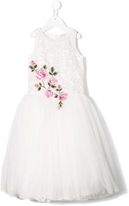 MonnaLisa Floral Flared Dress
