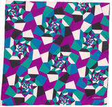 Turnbull & Asser Abstract Print Silk Pocket Square w/ Tags