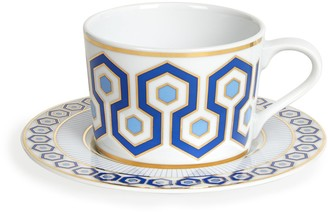 Jonathan Adler Newport Tea Cup and Saucer