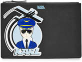 Karl Lagerfeld Fly with Zipped Clutch