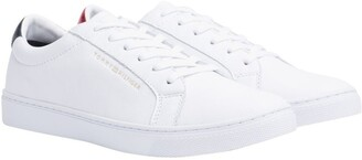 Tommy Hilfiger Metallic Back Lace-Up Trainers