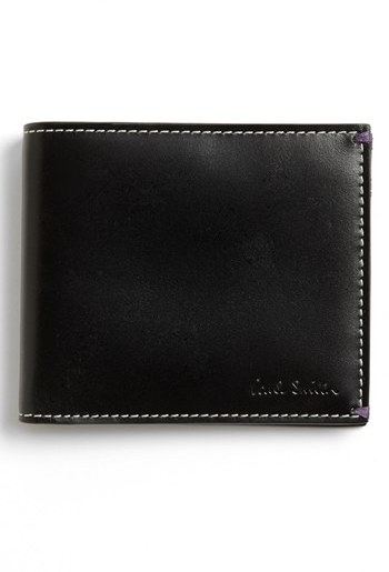Paul Smith 'Mini At Night' Leather Billfold Wallet