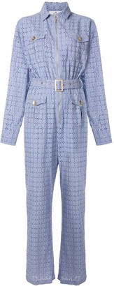 We Are Kindred Vienna crochet boiler suit