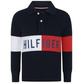 Tommy Hilfiger Tommy HilfigerBoys Navy Block Polo Shirt
