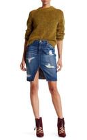 Joe's Jeans Joe&s Jeans Cutoff Slit Pencil Skirt