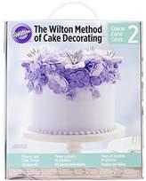 "Wilton Course 2 Method of Cake Decorating Flower Kit 61 Pieces 12"" Disposable"