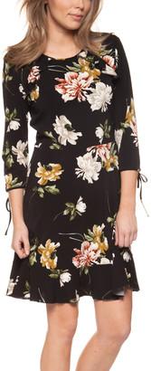 Devoted Women's Cocktail Dresses 90815-WINTER - Winter Garden Back-Cutout Round Neck Dress - Women