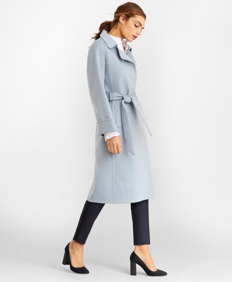 Brooks Brothers Cashmere Wrap Coat