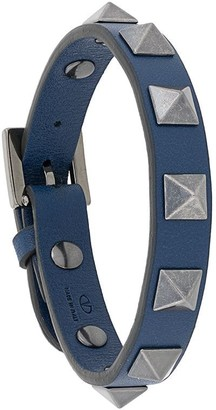 Valentino signature Rockstud embellishment bracelet