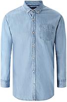 Scotch & Soda One Pocket Denim Shirt, Blue