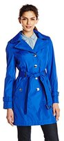 Calvin Klein Women's Single Breasted Trench Coat