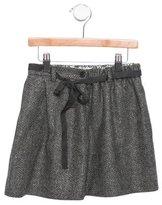 Bonpoint Girls' Tweed A-Line Skirt