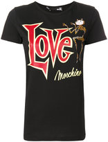 Love Moschino graphic printed T-shirt
