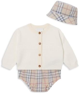 Burberry Baby Girl's 3-Piece Norah Set