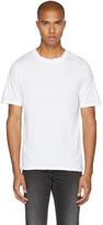 BLK DNM White 125 Raw Crewneck T-shirt
