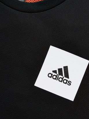 adidas Junior Boys Training Aero Tee - Black