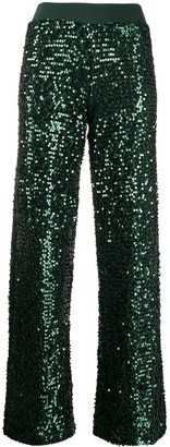 P.A.R.O.S.H. Sequin-Embellished Culottes