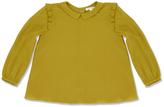 Marie Chantal GirlsFrill Sleeve Silk Blouse
