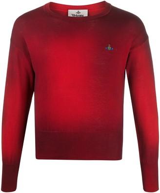 Vivienne Westwood Tie-Dye Logo Jumper