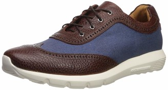 Marc Joseph New York Men's Leather Extra Lightweight Technology Fashion Wingtip Sneaker