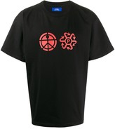 Rassvet graphic print boxy fit T-shirt