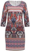 Saint Tropez PAISLEY Jersey dress rose